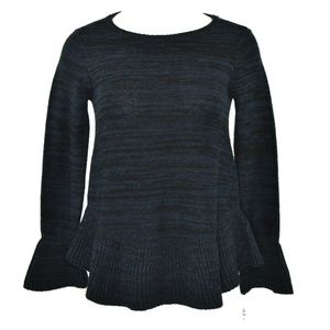 Style & Co Ruffle-Trimmed Pullover Sweater XS NWT